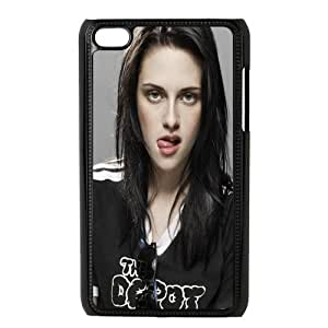 Hollywood Superstar Kristen Stewart Personalized Plastic Case for iPod touch 4th generation