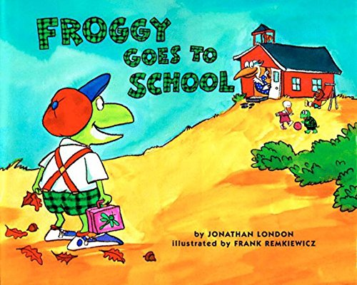 Image result for froggy goes to school