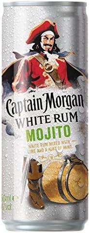 250 ml Capitán Morgan Blanco Mojito Premezcla: Amazon.es ...