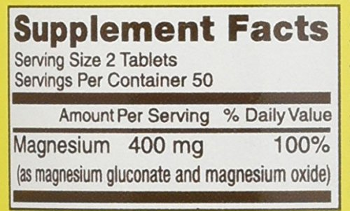 Amazon.com: Mason Vitamins Magnesium 200 mg Tablets,100 Count: Health & Personal Care