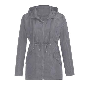 Mujer y Niña chaqueta abrigada Invierno fashion fiesta carnaval,Sonnena ❤ Impermeable ligero impermeable al aire libre de las mujeres Chaqueta de lluvia ...