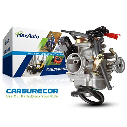 MaxAuto New Carburetor for 24mm GY6 150 150cc - Scooter Carburetor 150cc