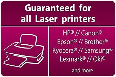 SIGEL LF420 OHP-Folien Overheadfolien A4 f/ür S//W-Laserdrucker Kopierer 50 Blatt