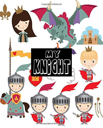 My Knight: Blank Sticker Book For Kids. Stickers book Collecting Album (Volume 3)
