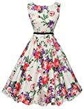 GRACE KARIN Women Classy Wiggle Dresses 50's Vintage Style Size M F-21