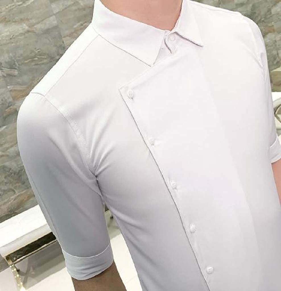 Comaba Mens Nightclub Half Sleeve Britain Work Shirt