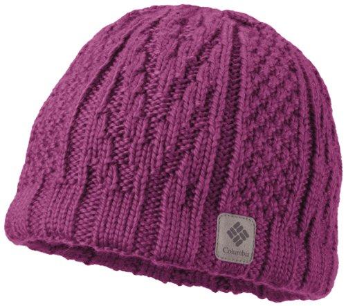 Columbia Men's Parallel Peak II Beanie, Deep Blush, One Size (Hat For Women Winter Columbia)