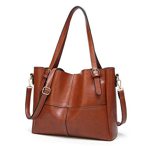 Meaeo Diagonal Brown Y Elegante Bolsos nbsp; Bolsos Color nbsp; Hombro nbsp;color Paquete De Marrón Simple PPXrFq