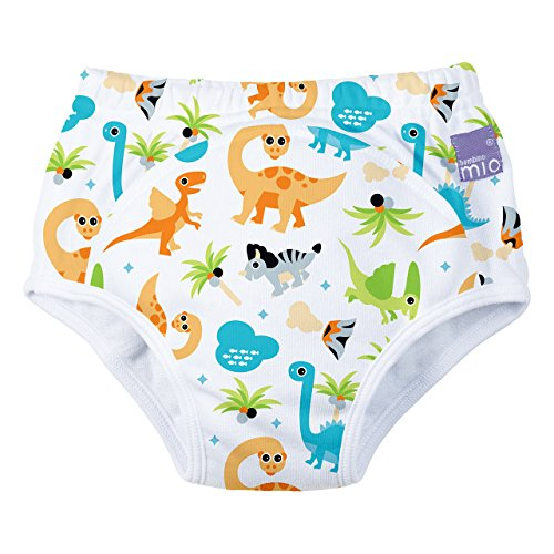 Bambino Mio Dino Potty Training Pants, White, 2-3 Years
