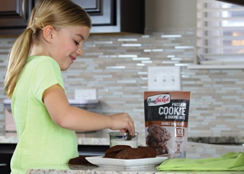 FlapJacked Protein Cookie & Baking Mix, Double Chocolate, 9 Ounce