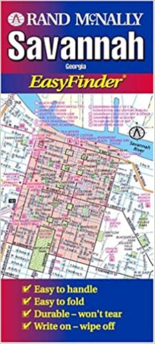 Savannah Georgia Easyfinder Usa Easyfinder Maps Rand Mcnally