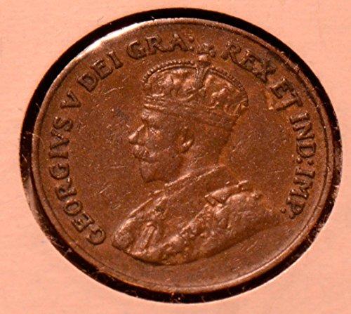 1924 CA CA0090 Canada Cent vintage DE - Canada Cent