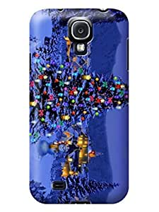 Samsung protector Christmas pattern for Samsung Galaxy S4/9505