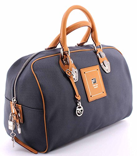 Sac à Main Femmes PIERO GUIDI 116AY3470 Col 15 Hand Bag Tissu Bleu Made In Ital