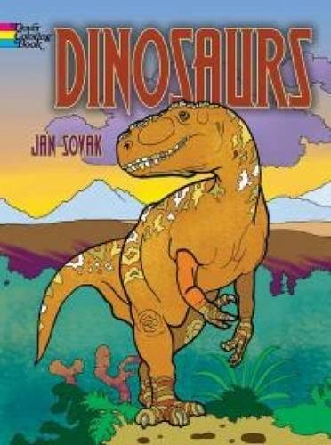 Dinosaurs Coloring Book (Dover Coloring Books for Children)