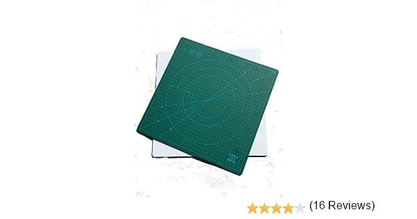Dafa - Esterilla de Corte giratoria de 360° para autorreparación, 30 cm x 30 cm, Similar a OLFA: Amazon.es: Hogar