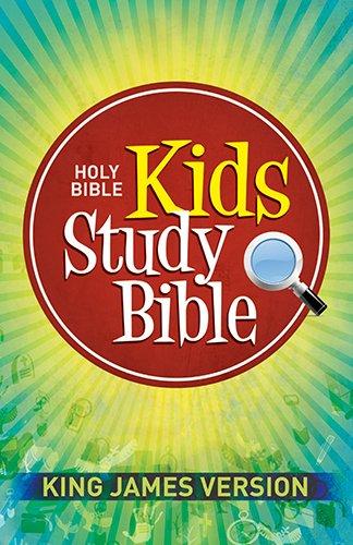 Kids Study Bible-KJV (Kids Starting Bible)