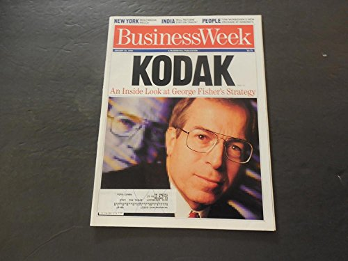 Business Week Jan 30 1995 New York; India; People; Kodak; ()