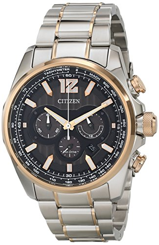 Citizen CA4176 55E Shadowhawk Eco Drive Stainless