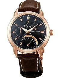"ORIENT STAR Classic Automatic ""Retrograde"" Rose Gold Sapphire Watch SDE00003B (WZ0031DE)"