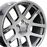 22x10 Wheel Fits Dodge, RAM Trucks - RAM SRT Style Chrome Rim, Hollander 2223