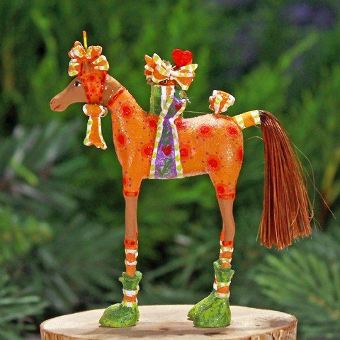 Patience Brewster Mini Maisy The Horse Ornament Christmas Holiday Figurine Decoration