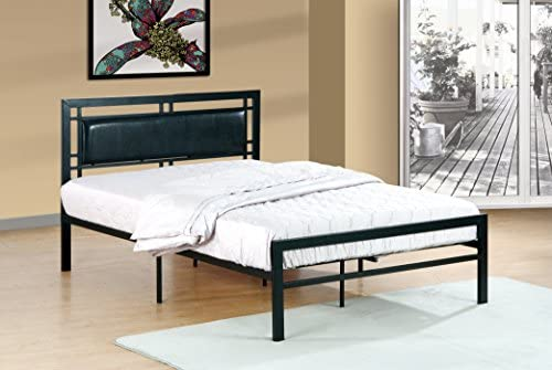Furniture World Frank Contemporary Metal Bed