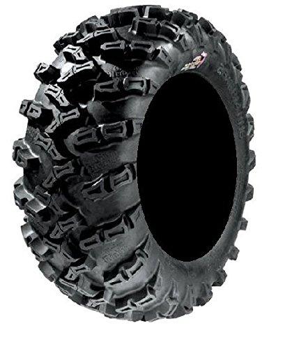 Pair of GBC Grim Reaper Radial (8ply) ATV Tires [25x10-12] (2) by Powersports Bundle (Image #1)