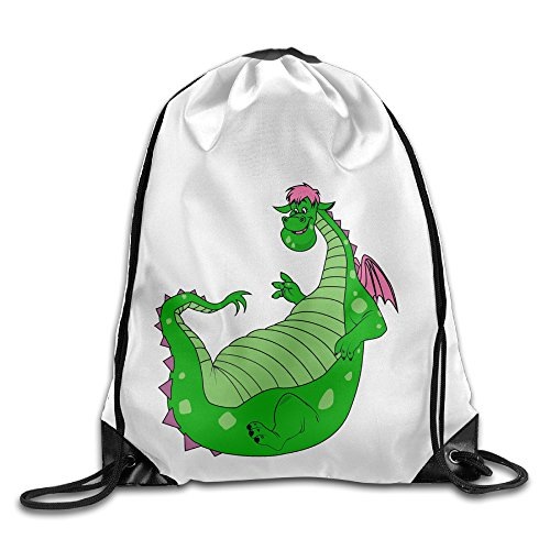 Bekey Pete's Dragon Cute Gym Drawstring Backpack Bags For Men & Women For Home Travel Storage Use Gym Traveling Shopping Sport Yoga - Redford Robert Glasses