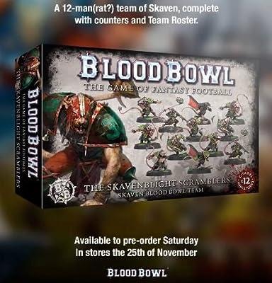 Blood Bowl: The Skavenblight Scramblers - 12 Figures ( 200-11 ) Games Workshop from Games Workshop