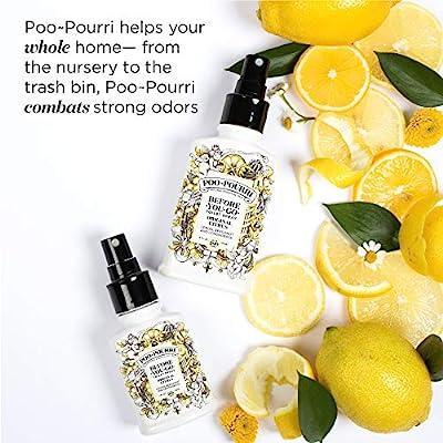 Poo-Pourri Royal Flush Custom Toilet Spray Bottle, White, 8
