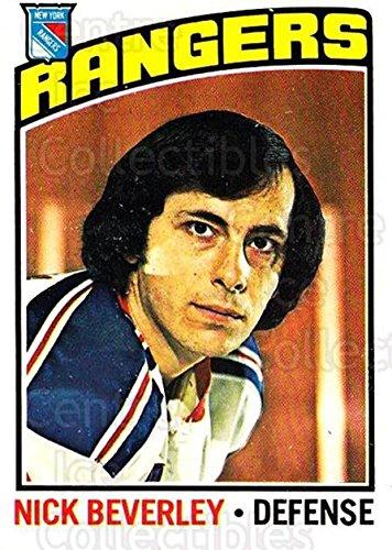(CI) Nick Beverley Hockey Card 1976-77 O-Pee-Chee (base) 41 Nick - Center Beverley