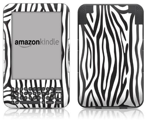 Matte Stripe (DecalGirl Kindle Skin (Fits Kindle Keyboard) Zebra Stripes (Matte Finish))