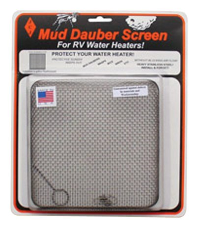 JCJ W-600 Mud Dauber Screen for RV Water Heater