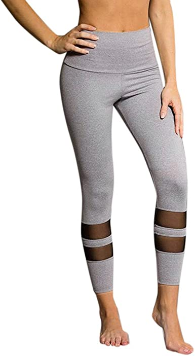 High Waist Fitness CAMO LEGGINGS Womens Gym Workout Push Up  Solid YOGA pants