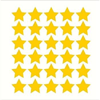 Amazon.com: 68 Star Stickers Removable Star Wall Decal, Brimstone ...