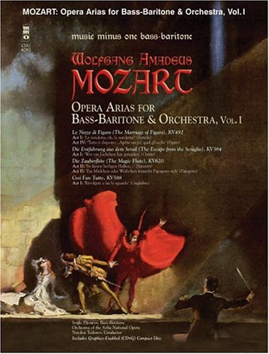 Download Mozart Opera Arias for Bass Baritone and Orchestra - Vol. I pdf epub