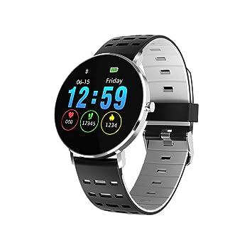 Reloj Inteligente, natación IP68 a prueba de agua, monitor de ritmo cardíaco, rastreador