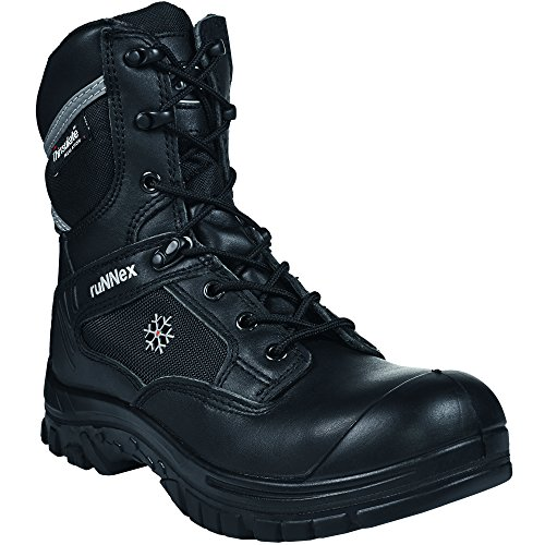 'ruNNex invernali stivali di sicurezza S3 5330 Winter Star con fodera in Thinsulate, colore: nero, Nero, 5330
