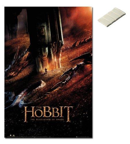 Bundle - 2 Items - The Hobbit Desolation Of Smaug Dragon Pos