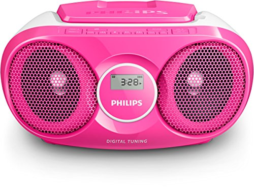 Philips AZ215C/12 CD-Player (Radio, 3 Watt) pink