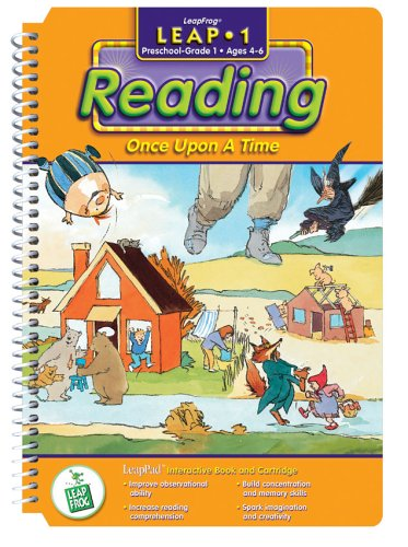 LeapPad: Leap 1 Reading- ''Once Upon a Time'' Interactive Book and Cartridge by LeapFrog (Image #1)