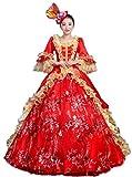 Zukzi Women's Gorgeous Victorian Train Ball Gown Wedding Dress, Customized, #218