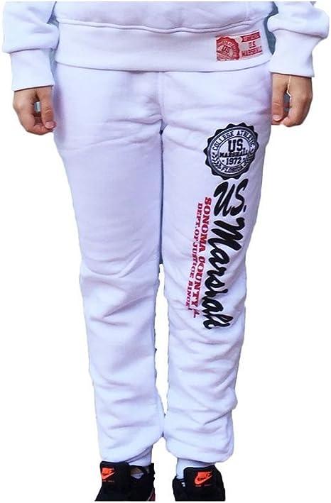 Pantalón de chándal para niño US MARSHALL, color blanco Blanco ...
