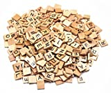 vintage scrabble tiles - M-Aimee 400 SCRABBLE TILES - NEW Scrabble Letters - Pendants Crafts Spelling Pieces