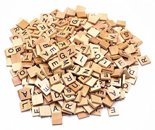 M-Aimee 400 Scrabble Tiles - New Scrabble Letters - Pendants Crafts Spelling Pieces