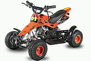 Mini Quad Sios Safety Auto Off Limiter Speed Nitro Motor Orange
