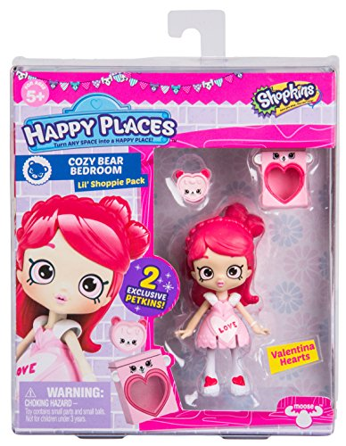 Shopkins Happy Places Doll Single Pack - Valentina Hearts from Shopkins