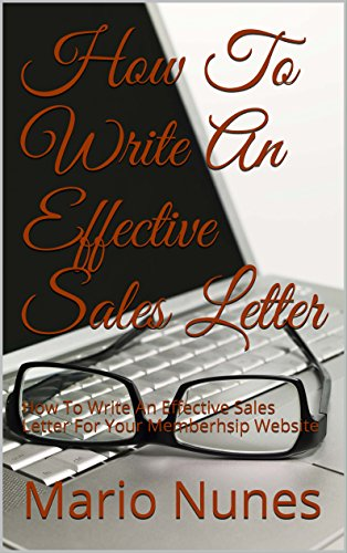 How To Write An Effective Sales Letter How To Write An Effective