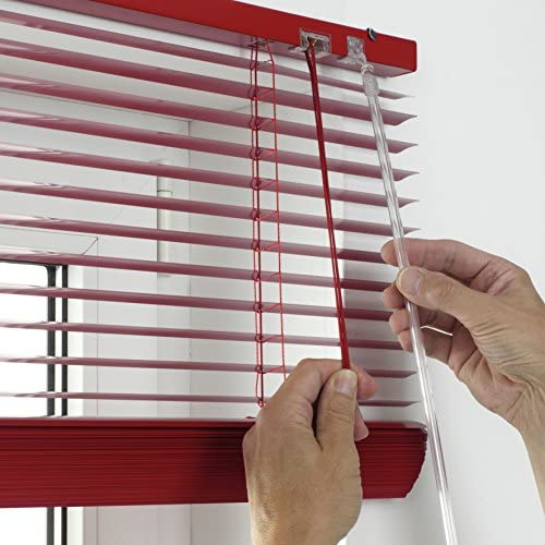 Persiana color rojo aluminio, 25/mm, 120/x/175/cm Gardinia 10007321